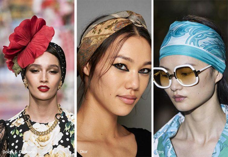 módní doplňky do vlasů pro ženy