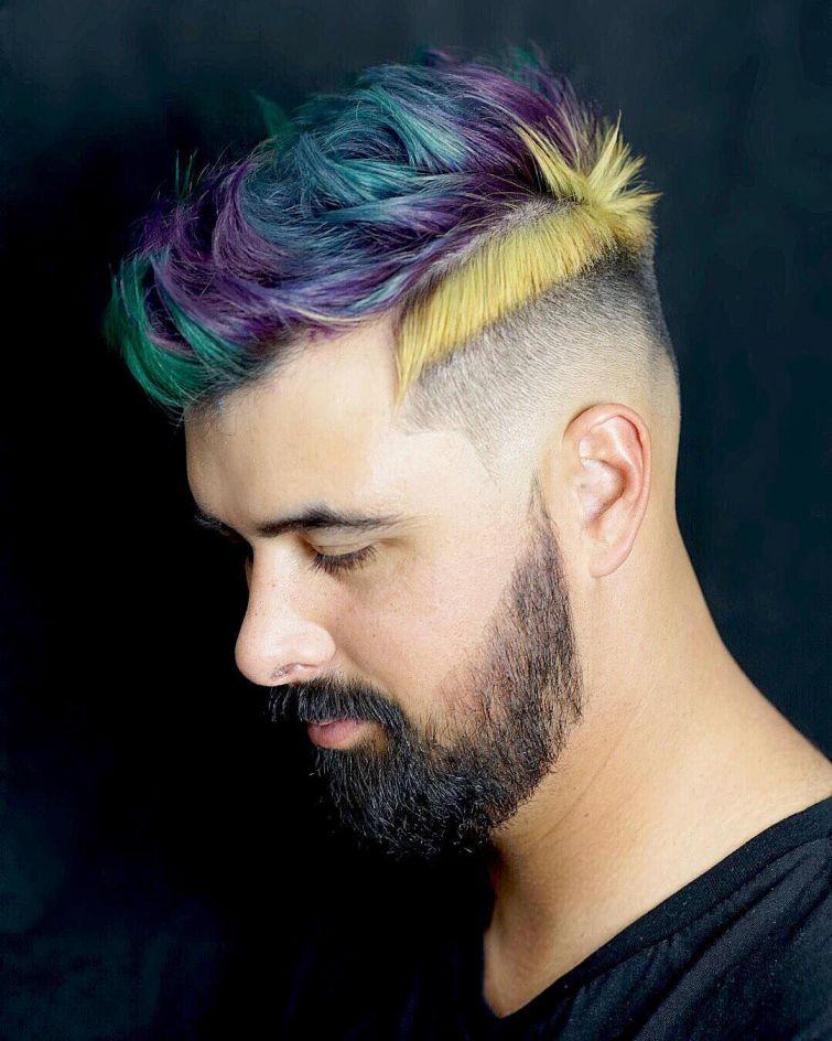 barvení vlasů pro pány