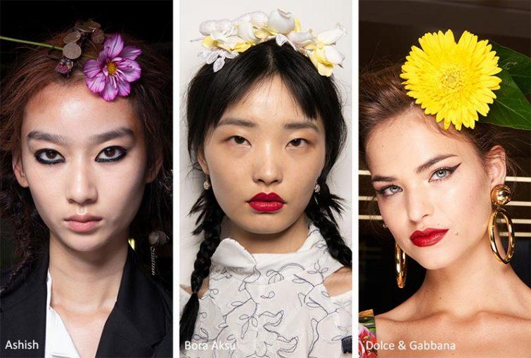 vlasove doplnky damske trendy kvetiny