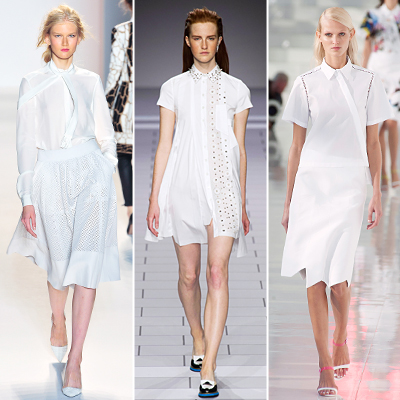 módní trendy jaro léto 2014