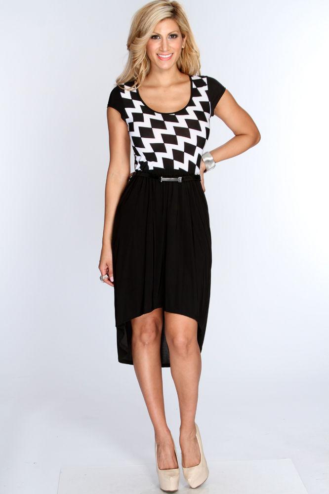 černo bílé šaty tělové boty