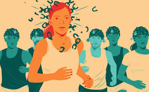 Mysl při běhu