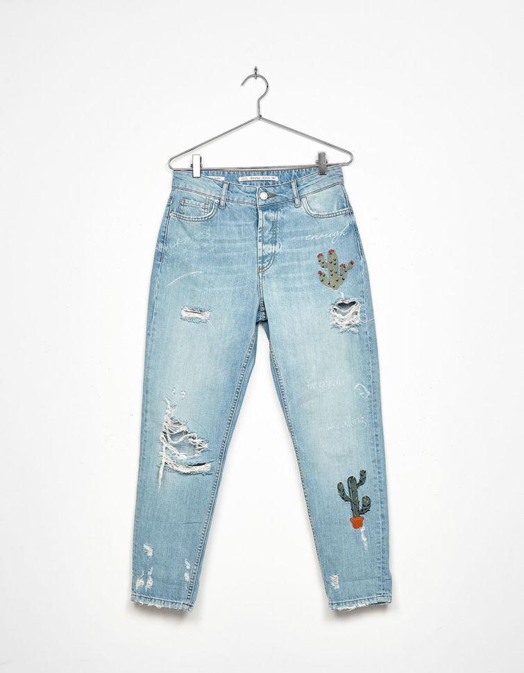 roztrhané džíny